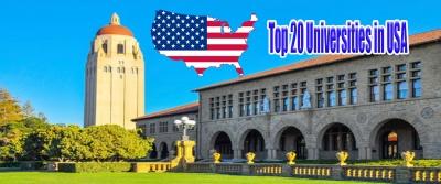 Top 20 Universities in USA - Agla Exam